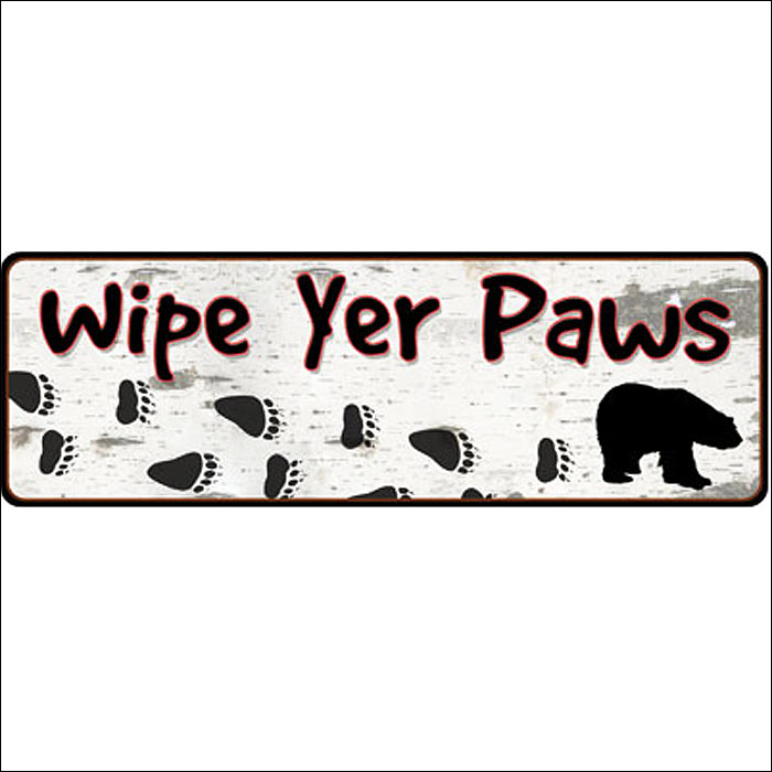 10 5 inch x 3 5 inch rivers edge home decor wipe yer paws